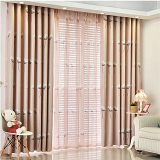 Home Decor Modern Floral Curtain Blackout Window Curtains
