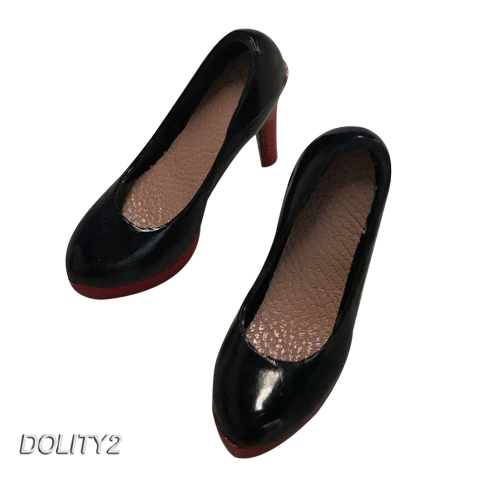 1//6 Female White High Heels Model Soft Suit Shoes Toy Fit 12/'/' Action Figure