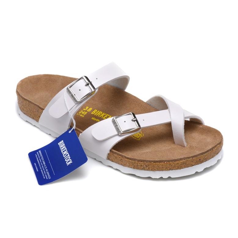 Authentic German Birkenstock shoes Mayari Boken men and women softwood toe sandals and slippers