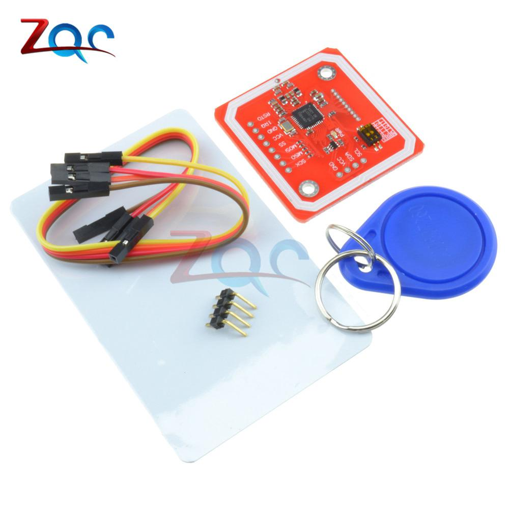 PN532 NFC RFID Wireless Module V3 User Kits Reader Writer Mode IC S50 Card  PCB