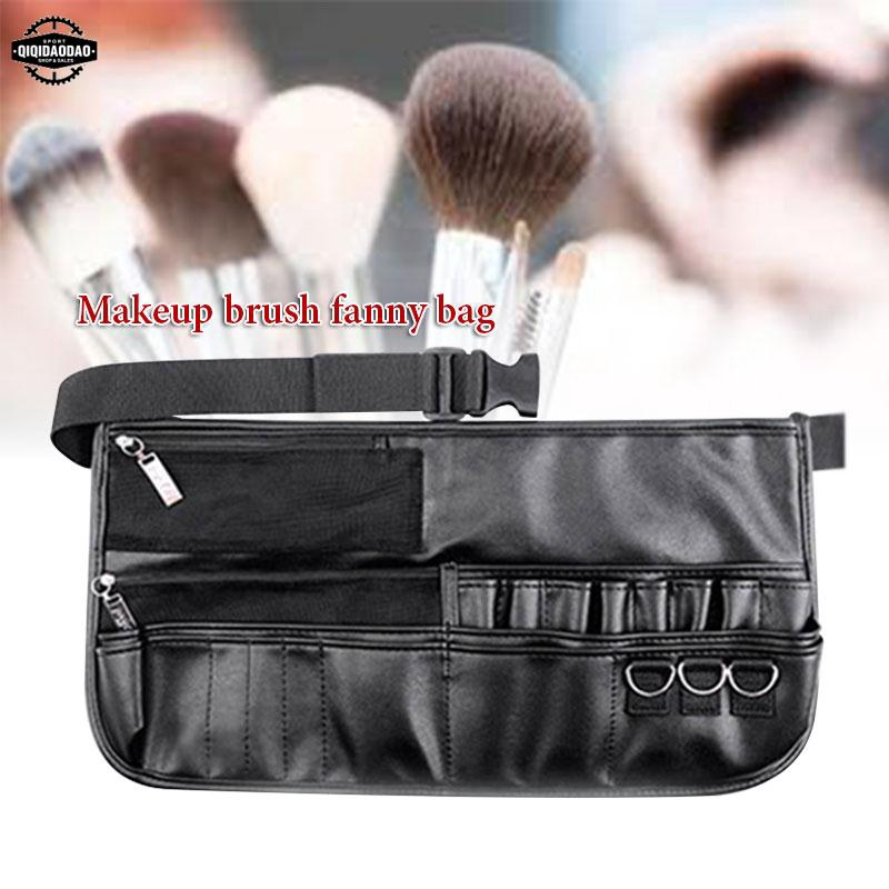 New Empty Makeup Brush Waist Bag Soft