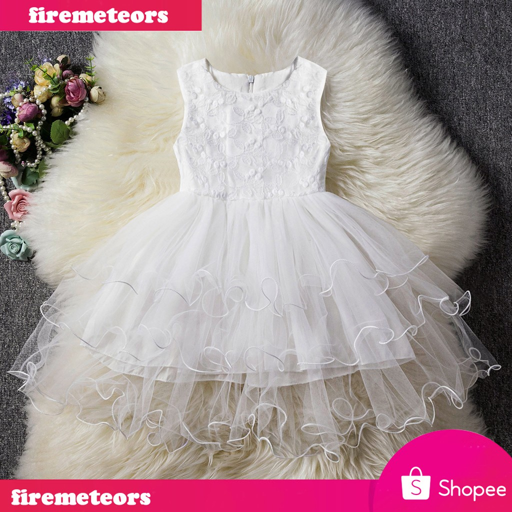 Infant Baby Girls Easter Romper Ruffled Cartoon Bunny Print Party Outfits 6M-24M