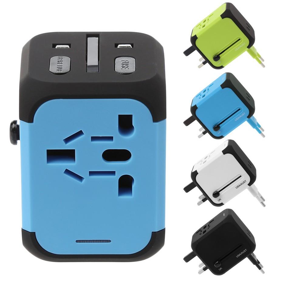 Dual USB Port Socket iPad Smartphone Mobile Phone Car Charger Blue LED For Honda | Shopee Singapore