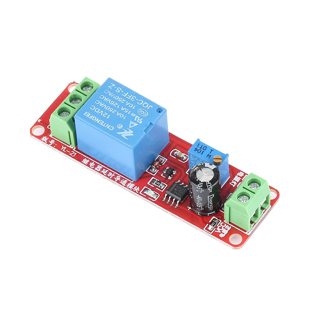 Ne555 12v Delay Adjustable Timer Relay Switch Module 0 10 1pcs Dc Turn On Off Second Oscillatorapwx