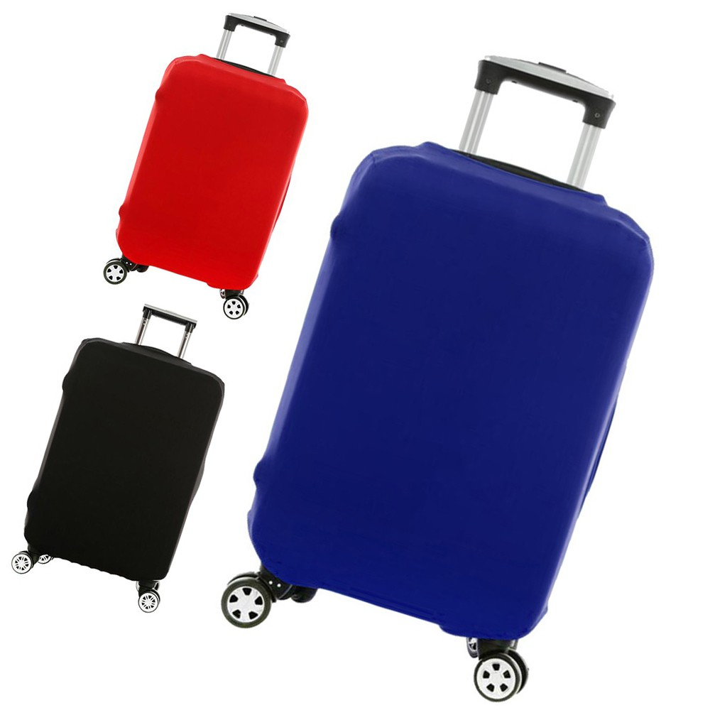3D Luggage Cover Fit 18-30 Inch Suitcase Protector Expandable Anti-scratch Bag