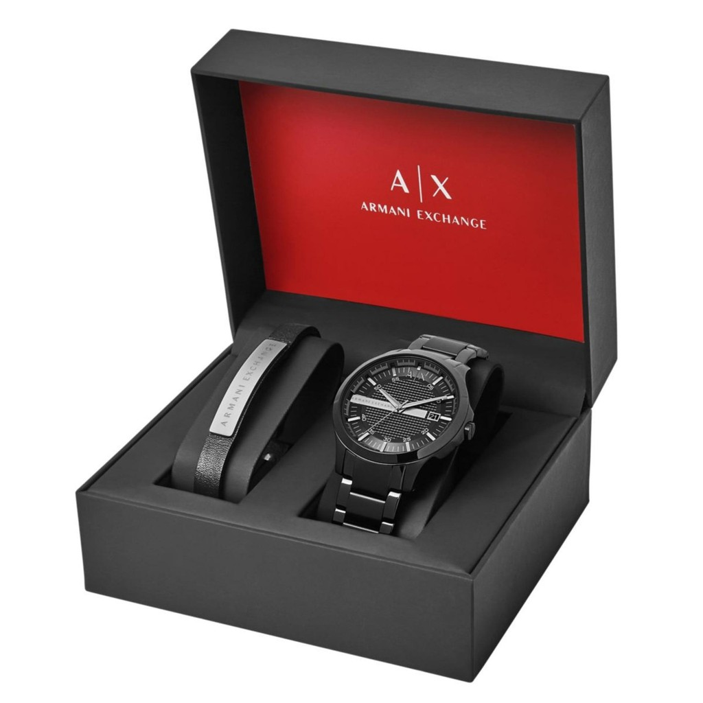 Armani Exchange Men s AX7101 Watch and Bracelet Set AX7101  78f00732ba