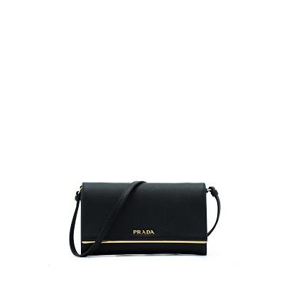 a133487b6f57 Prada Saffiano Lux Wallet On Chain (Fuoco)   Shopee Singapore