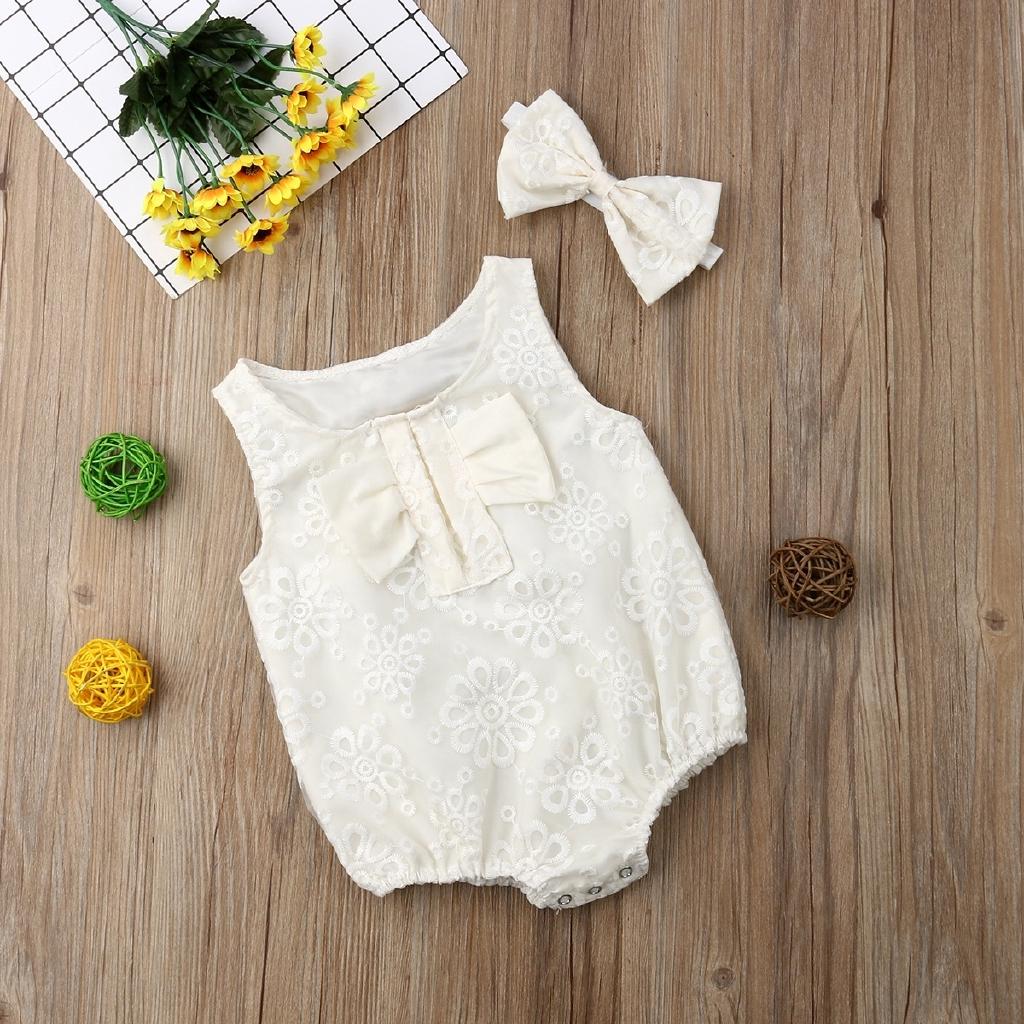 3PCS Newborn Kids Baby Girls Floral Dress Pants Princess Party Clothes Sunsuit