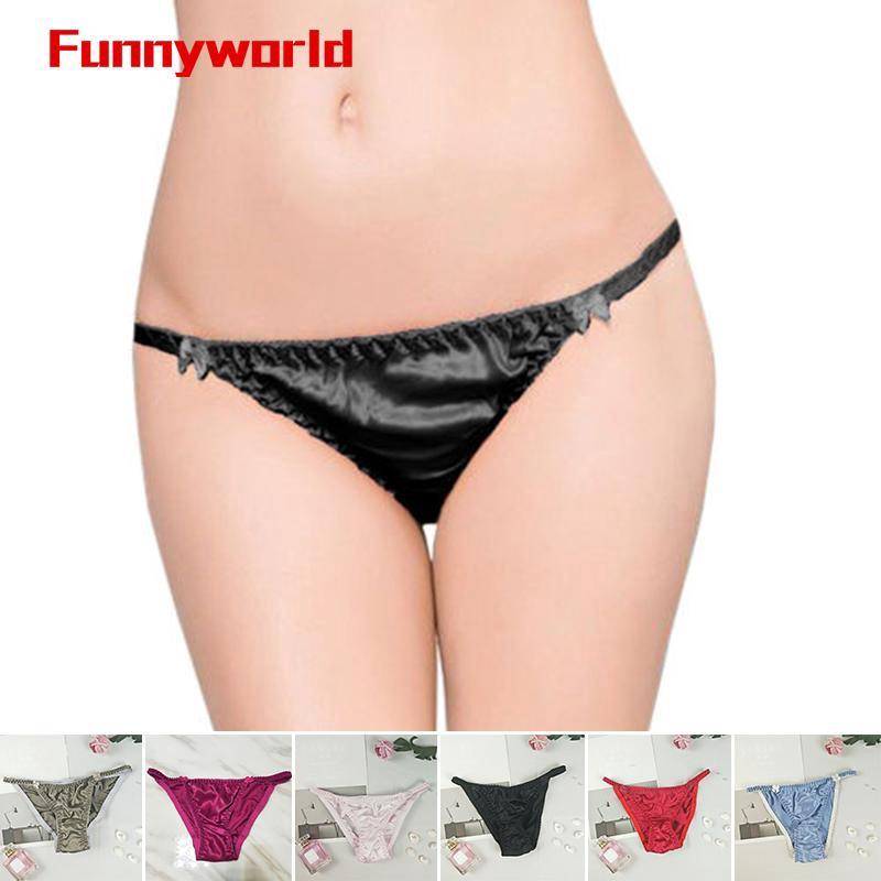 Satin Womans Panties Gif