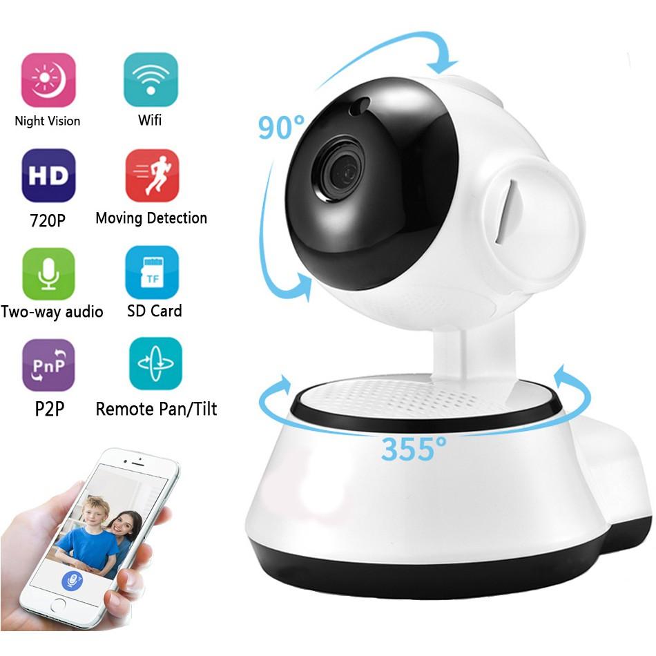V380 Camera Wifi Wireless IP Camera Surveillance CCTV Night Vision Cameras  baby