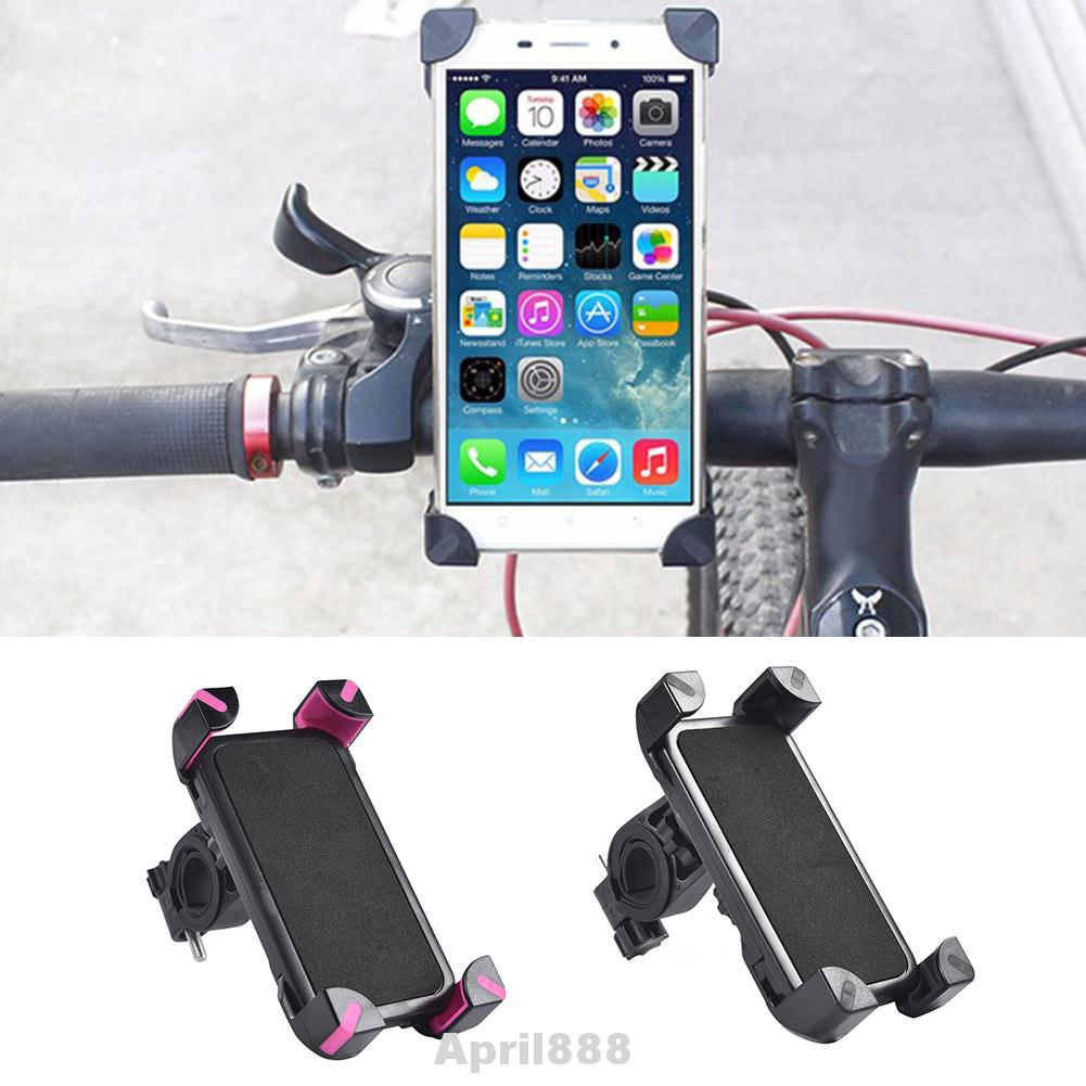 Bike Black handle bar extender L handlebar mount bracket stand holder phone GPS