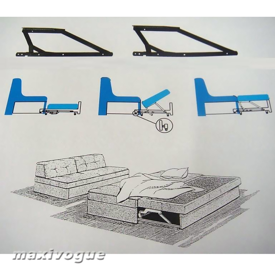 """24/"""" Bed Lift Hydraulic Mechanisms For Sofa Bed Durability Anti-corrosion Home"""