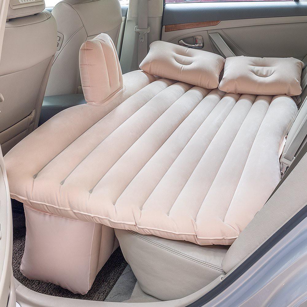 SET Inflatable Car Bed Car Air Mattress