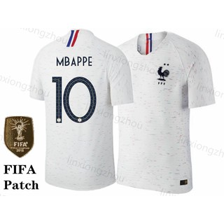 sports shoes fa3c4 52bdc Top Quality France 2018 World Cup Away Football Jersey ...