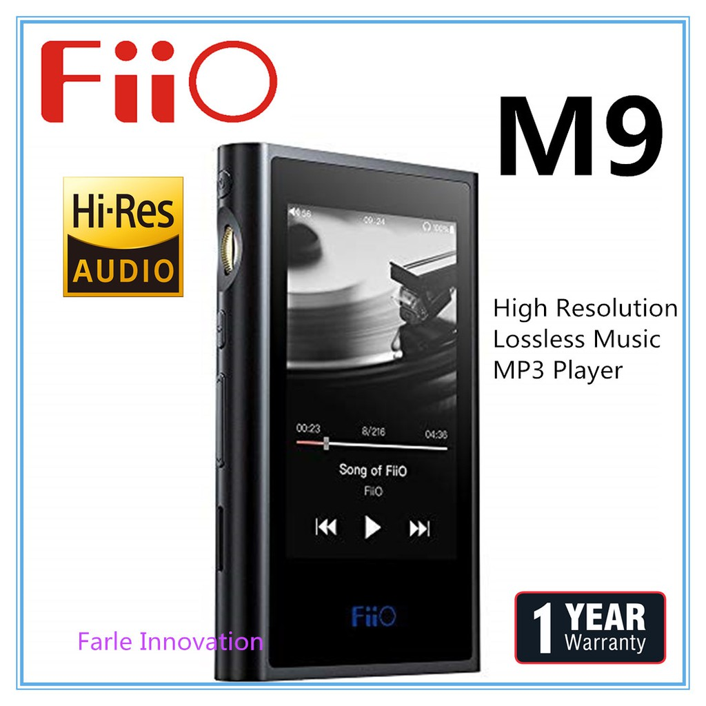 Fiio M9 Portable High-Resolution Loseless Audio Player & DAC