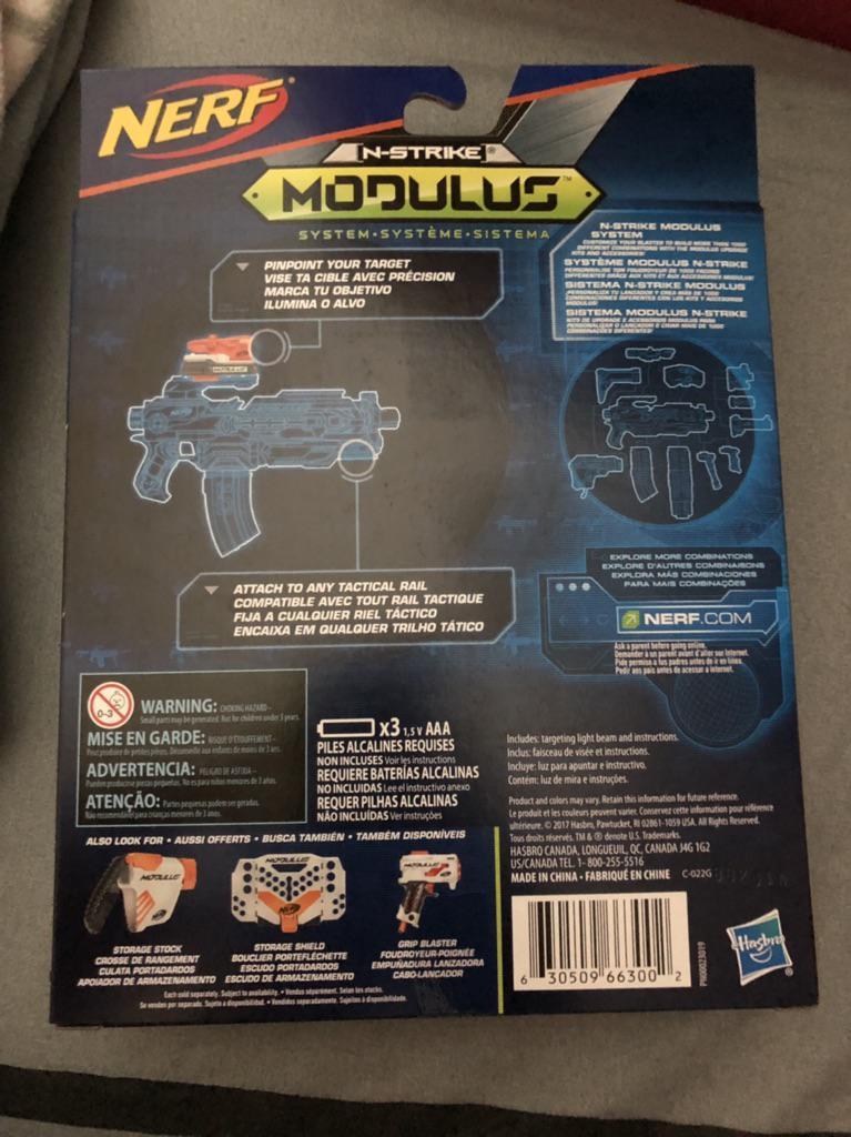 6321 Nerf Modulus Targeting Light Beam Shopee Singapore
