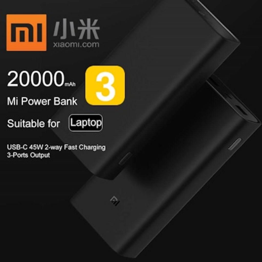 Xiaomi Mi Powerbank 20000mAh Gen 3 Power Bank