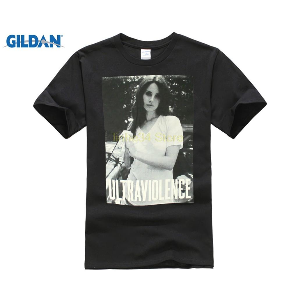 Diy Lana Del Rey Ultraviolence Mens Black T Shirt Official Adult Honeymoon Black Shopee Singapore