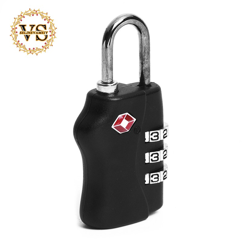 Travel Accessories Enthusiastic 3xtsa Approve 3 Digit Combination Travel Suitcase Luggage Bag Lock Padlock Reset At Any Cost