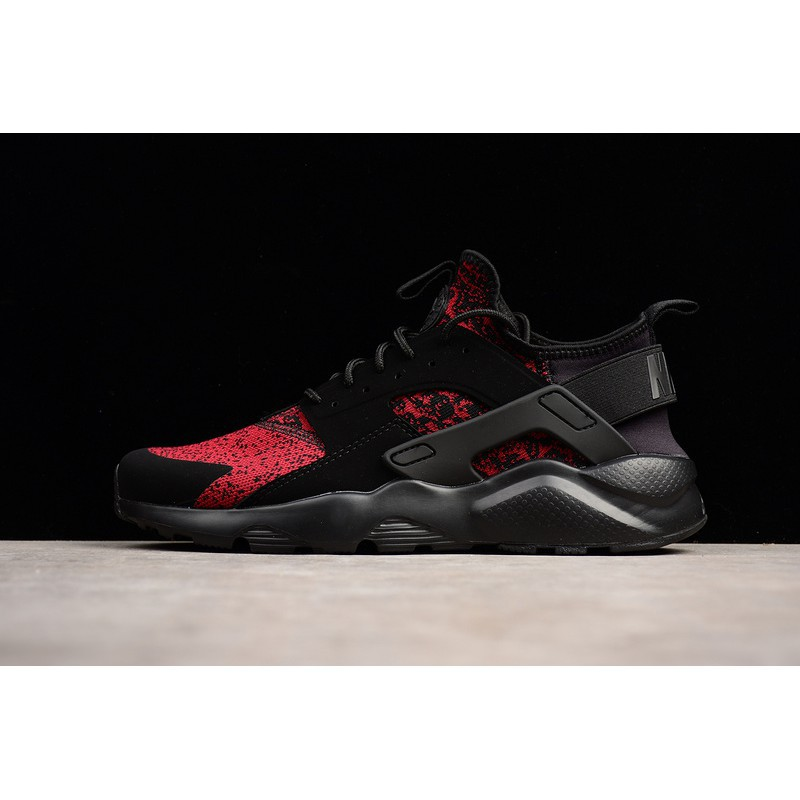 085fc863b93e NIKE AIR HUARACHE RUN ULTRA red and black 753889-994 men and women shoes