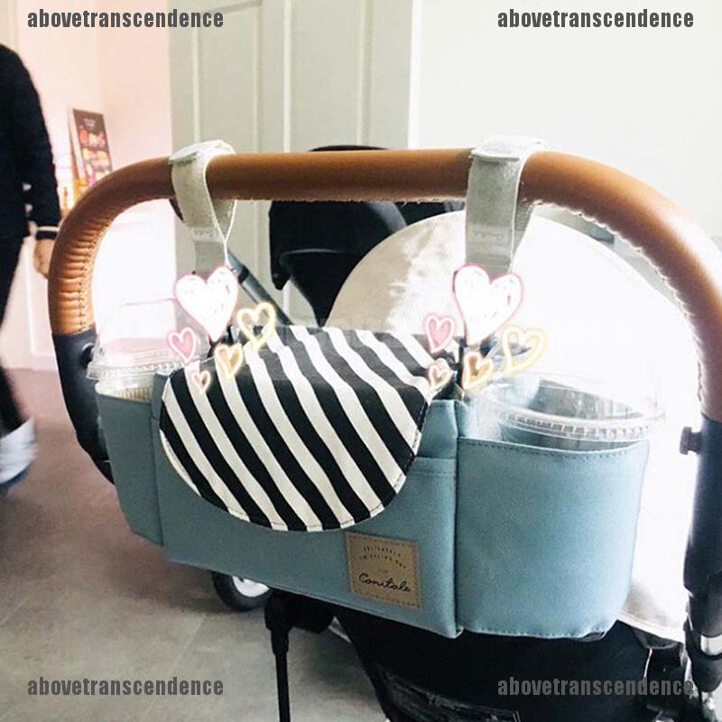 Universal Baby Stroller Storage Bag Cup Carriage Waterproof Pram Buggy Organizer