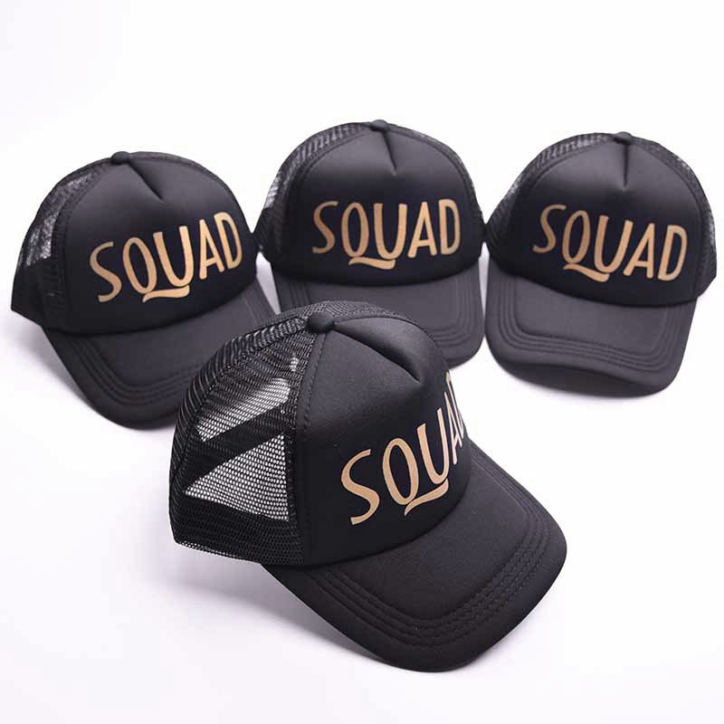 Blesiya Bride Tribe Caps Hat Wedding Bridal Shower Baseball Hat Trucker Cap