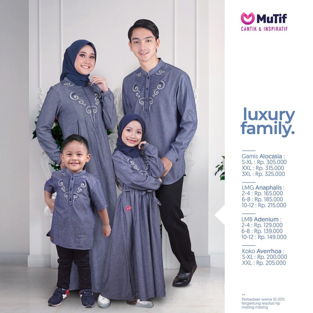 Muslim Clothing Sarimbit Couple Mutif Original Luxury Family Shopee Singapore