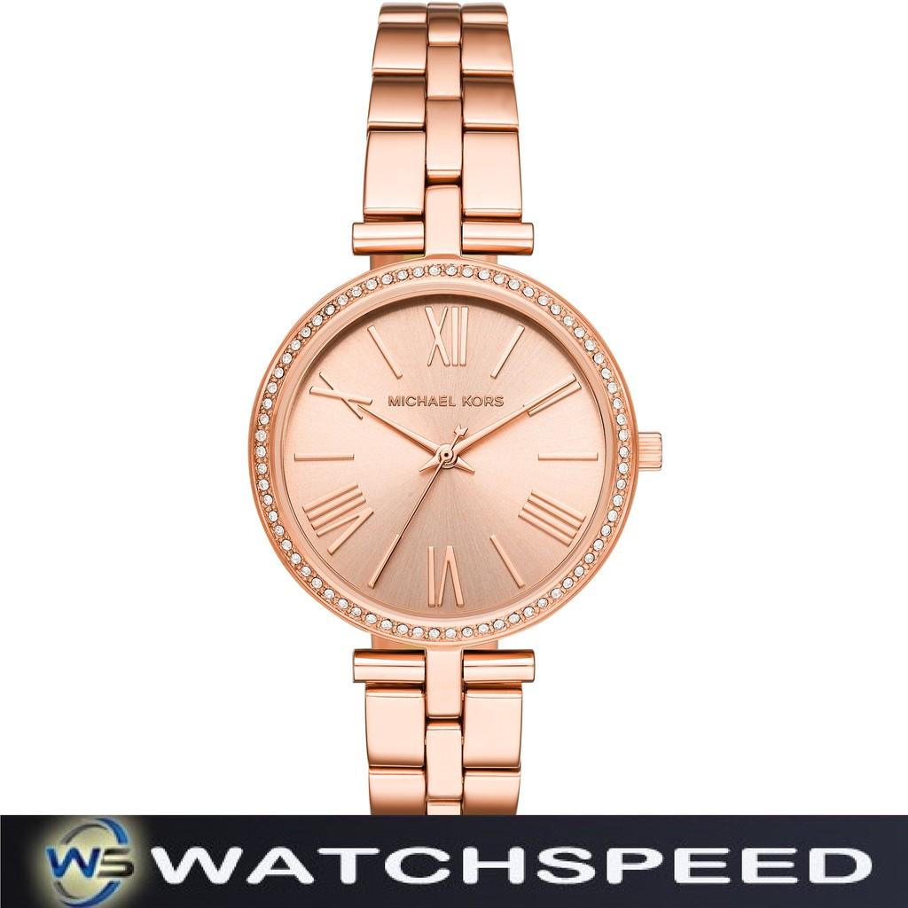 55d0879978aa5 Michael Kors MK3898 Pyper Gold Tone Stainless Steel Ladies   Womens Watch
