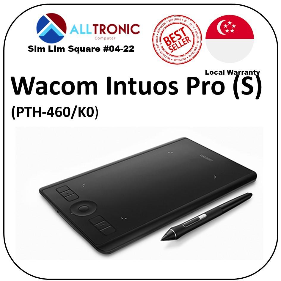 Wacom Intuos Pro Small PTH-460/K0 /1Year Warranty/ Singapore Authorised  Reseller