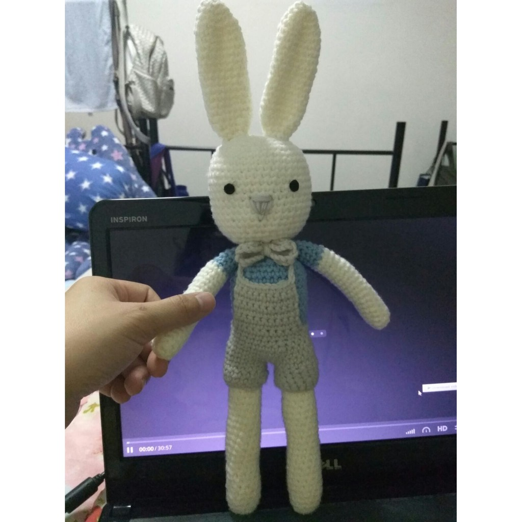 11 Crochet Bunny Patterns -Easter Fun - A More Crafty Life | 1024x1024