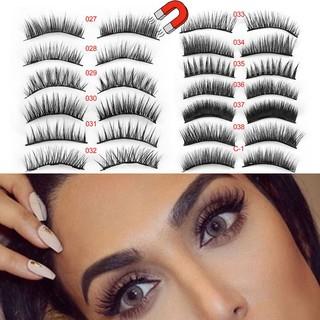 8b0ec30ffbf product image. product image. product image. product image. product image.  product image. SKONHED 4 Pcs Magnetic Lashes False Eyelashes Full Coverage  ...
