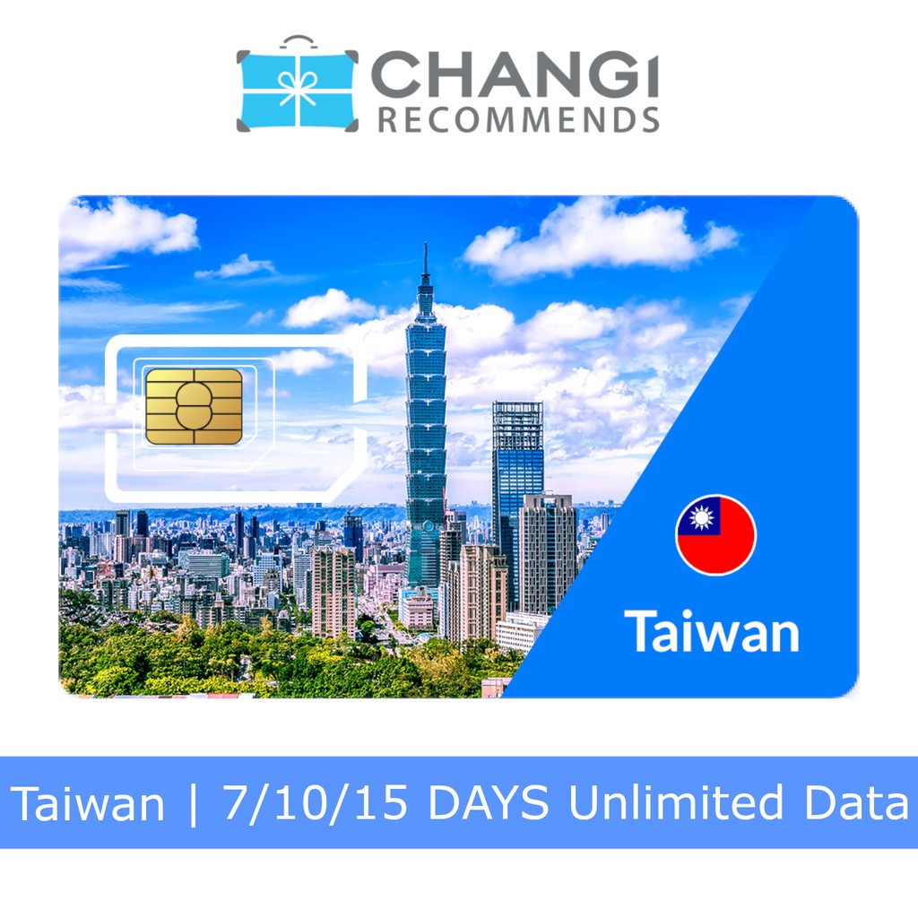 15 Days Taiwan Fareaston SIM Card