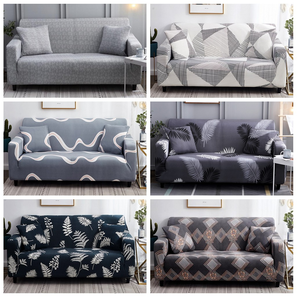 1 2 3 4 Seater Sofa Cover L Shape Universal Couch Cover Sofa