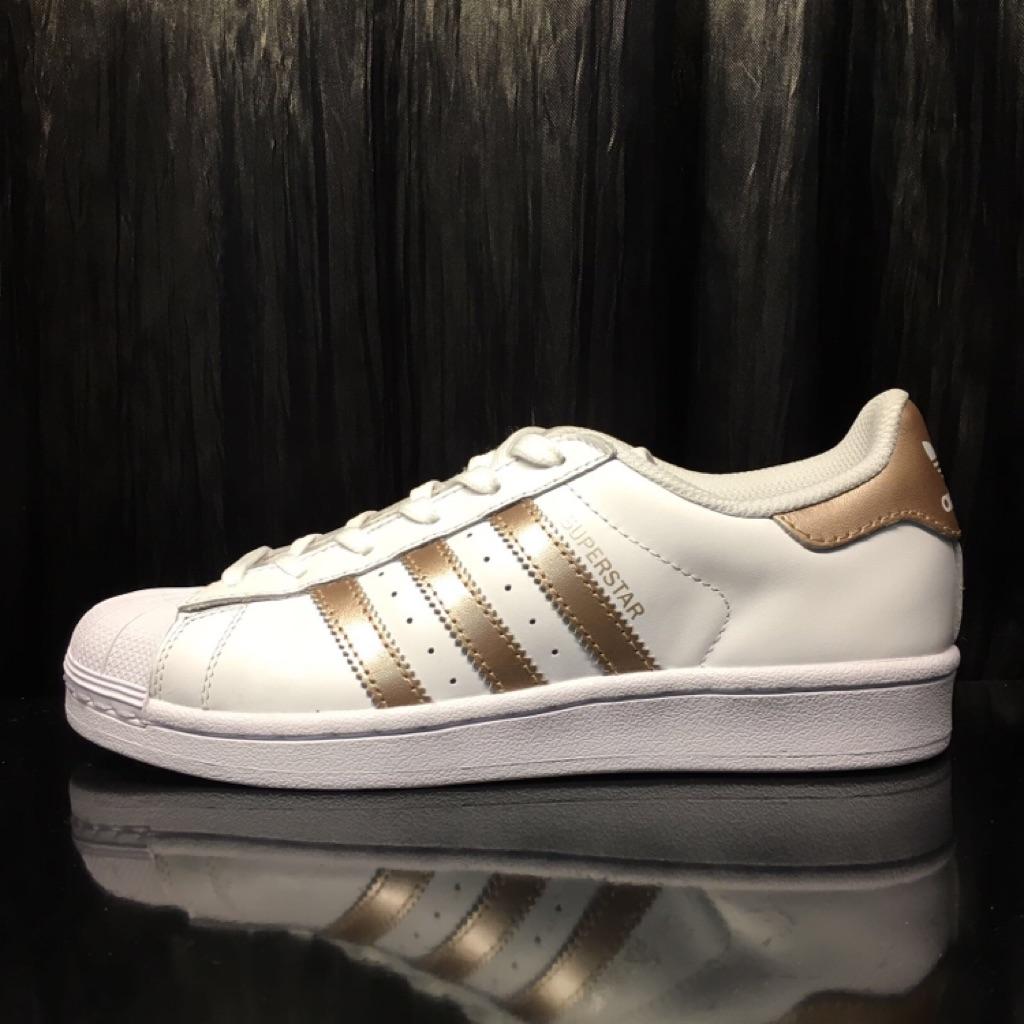 adidas original superstar white rose gold shopee singapore