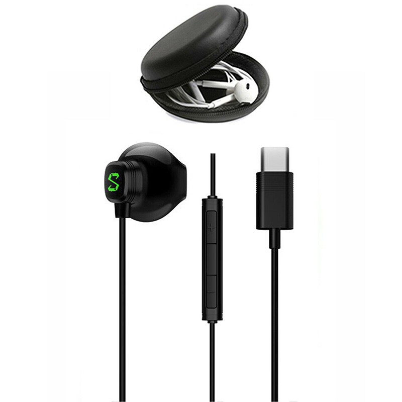Gaming-DNA-In-Ear-Headset BE07 Original Xiaomi Black Shark USB-Typ-C-Kopfhörer