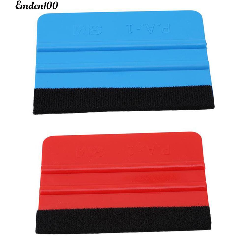 Soft Felt Edge Squeegee Board for Car Vinyl Application Wrap Tool Scraper Decal