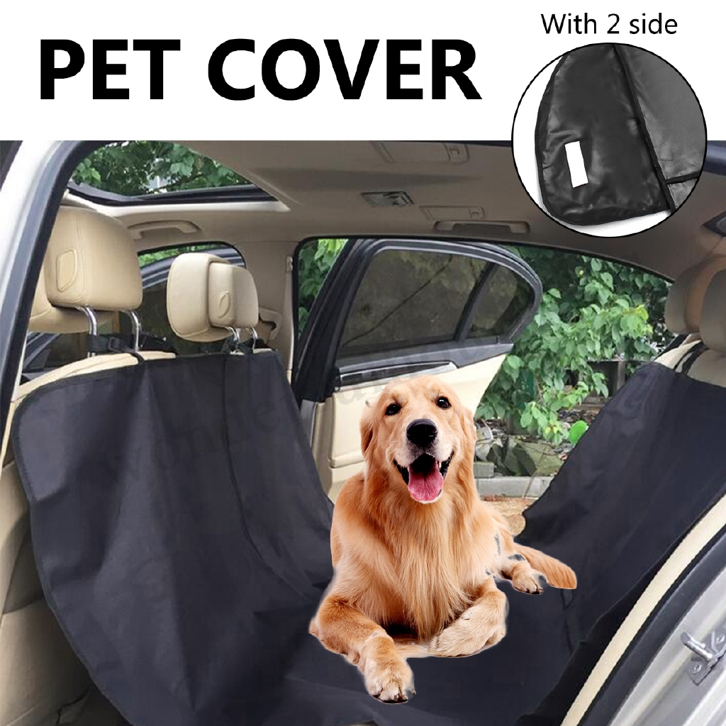 Interior Accessories Intelligent Green Vertical Stripes Pet Dog Car Seat Cover Pad Pet Rear Seat Cushion Mat Blanket Hammock Safe Dog Car Seat Back Protector