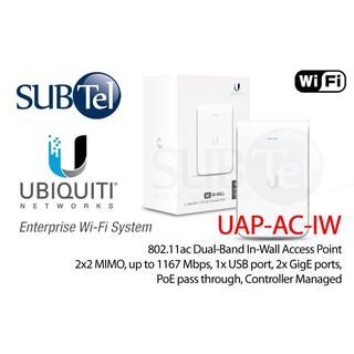Ubiquiti UAP-AC-IW Unifi AP In-Wall 2 4GHz & 5GHz Enterprise