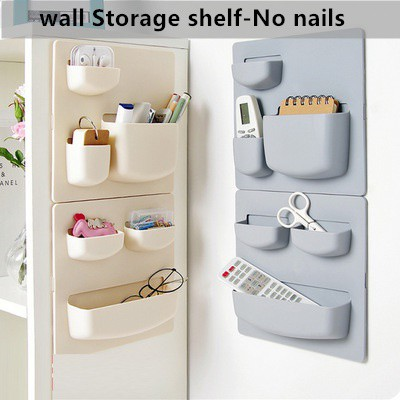 Rack Paste Wall Shelf Bathroom