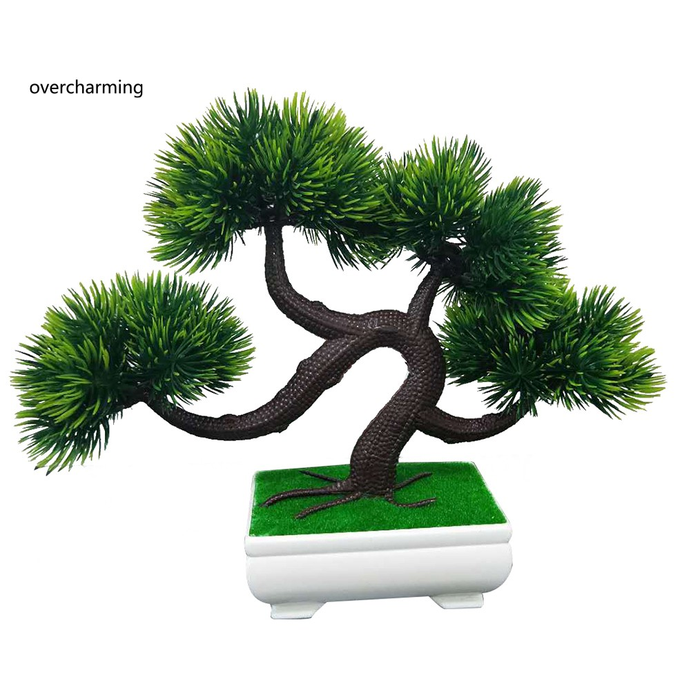 Artificial Pine Tree Faux Plant Bonsai
