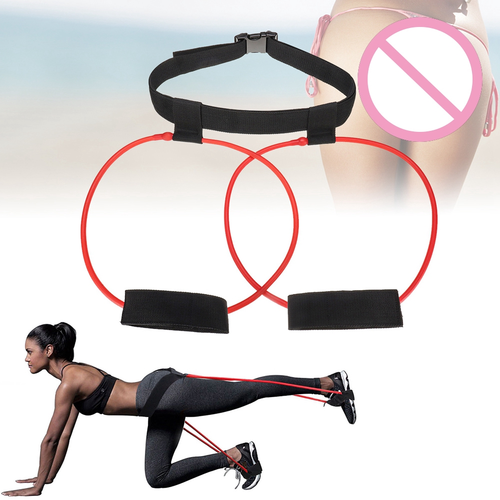 Women Booty Band Belt Workout Loop Elastic Muscle Trainer Fitness Glute Lifter