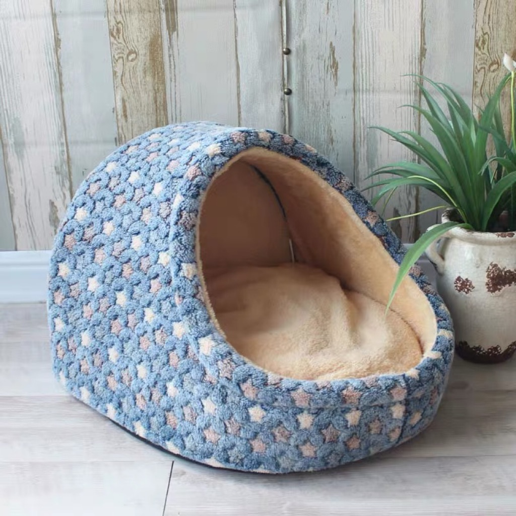 Free Courier Half Enclosed Pet Beds For Cats Dogs Rabbits Small Animals Shopee Singapore