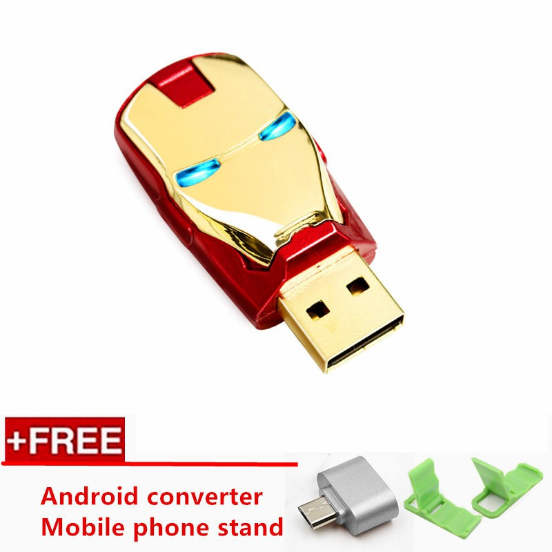 XB 64GB BAR Metal USB 2.0 Flash Drive