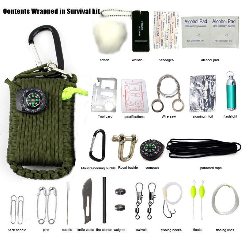 3 Frequency Portable Survival Whistle First Aid Outdoor Emergency Rescue ZX