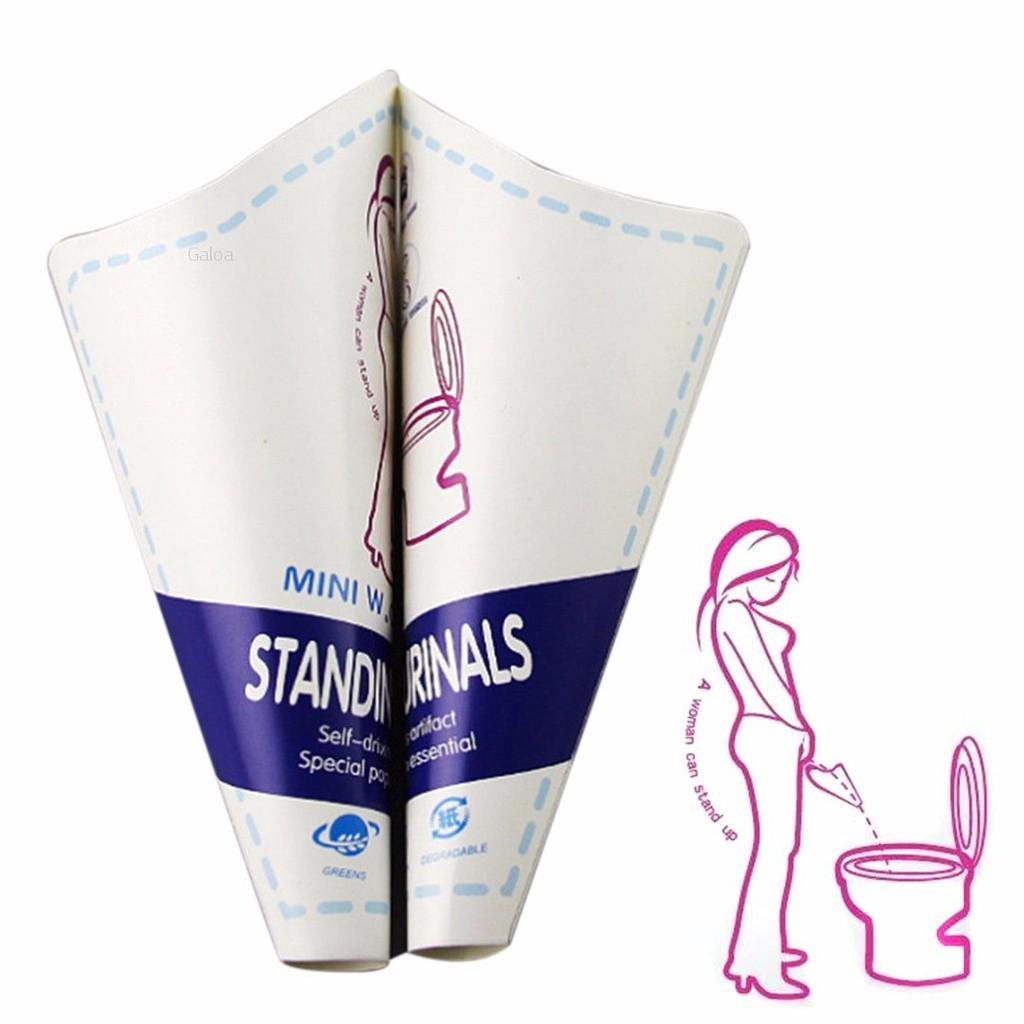 10Pcs Women Portable Disposable Urinal Standing Pee Urination USA