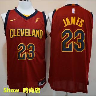 pretty nice e6325 75e53 17-18 season Nike version NBA jerseys Cavaliers #23 LeBron ...