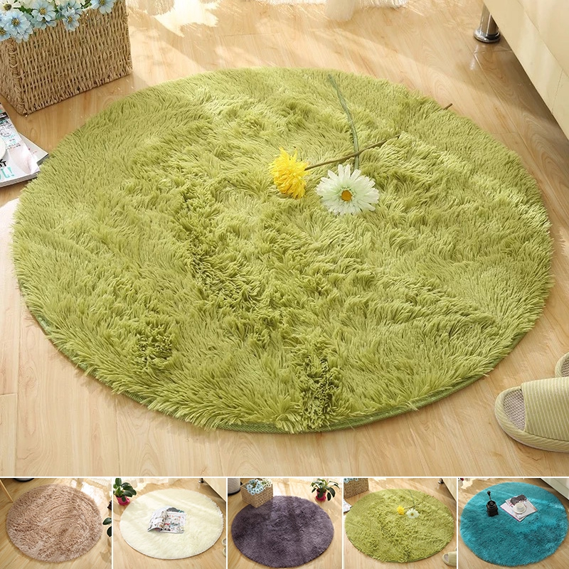 60cm Round Anti-Skid Floor Rugs Area