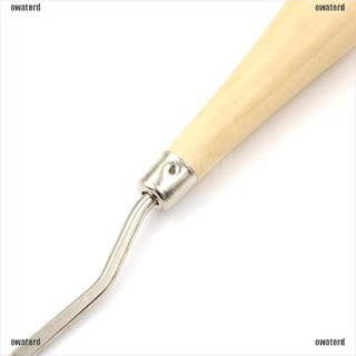 """Crochet Needle Latch Hook with Wooden Handle Craft//Hair Extension Hook 6.22/"""""""