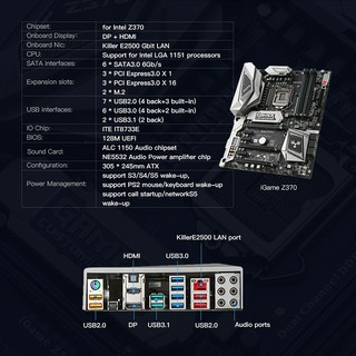 ASUS ROG STRIX Z370-H GAMING Intel Z370 ATX gaming motherboard with DDR4  4000MHz