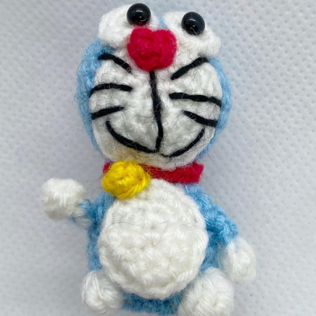 Doraemon keychain amigurumi - Amigu World | 1024x1024